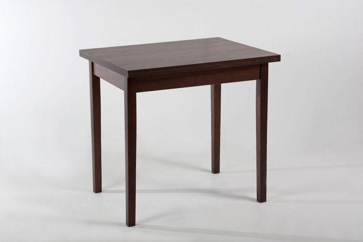 """Купить стол кухонный """"СК-02"""" от производителя в цвете орех темный, можно как оптом, так и в розницу. На сегодняшний день стол-трансформер является лучшим решением при оформлении современного интерьера. Отдавая предпочтение модели СК 02, вы сможете сэкономить пространство в комнате и получите фактически 2 стола по цене одного."""
