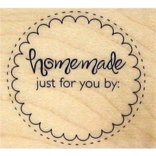 Stampabilities Homemade Circle Rubber Stamp   Shop Hobby Lobby