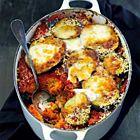 Een heerlijk recept: Aubergine en mozzarella uit de oven