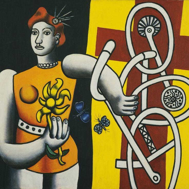 Fernand Léger (1881-1955) Big Julie, 1945   The Museum of Modern Art, New York