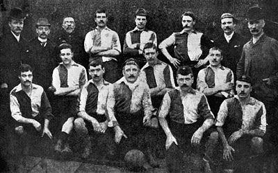 Newton Heath 1891- 92  Before The 'D'...Association Football around the world, 1863-1937.: Manchester United