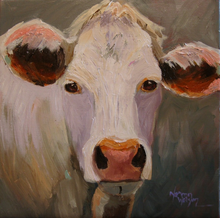 Cow Art... can i have this please?