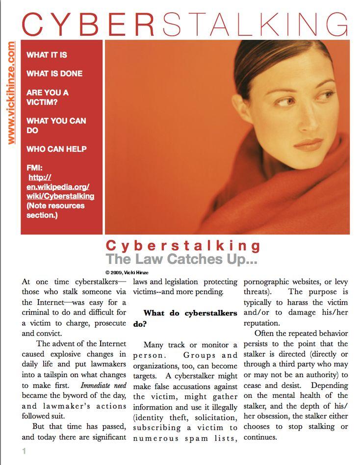 34 best images about cyberstalking on pinterest internet