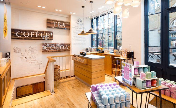 Whittard Covent Garden #teabar #afternoontea #thingstodoinLondon