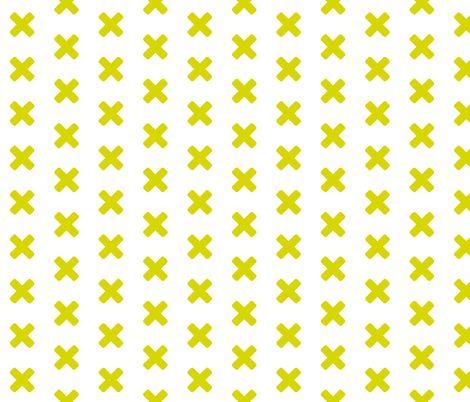 XXX Chartreuse fabric by brainsarepretty on Spoonflower - custom fabric