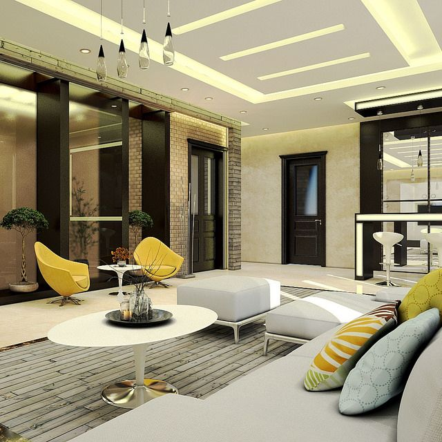 Interior design done using 3dmax with vray render for Interior design living room in 3ds max