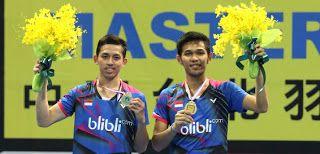 Rian/Fajar/badmintonindonesia.org     Muhammad Rian Ardianto/Fajar Alfian baru saja mencuri pangg...