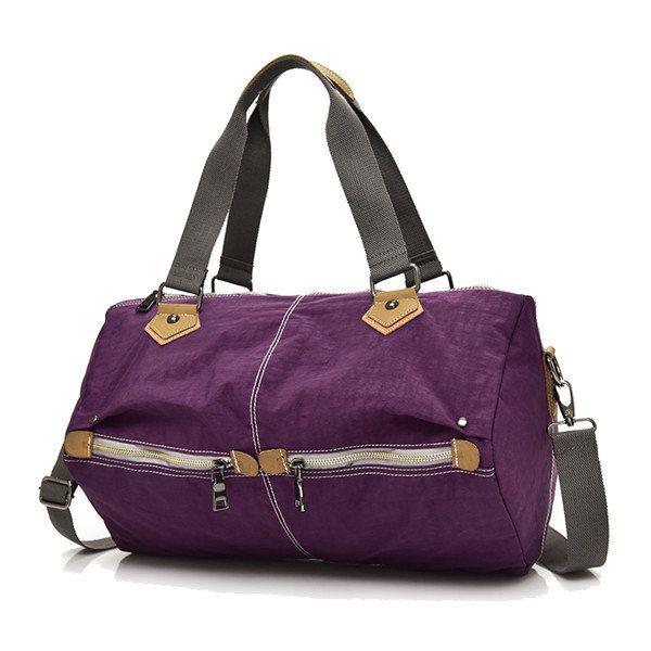 Women Multi-pockets Tote Handbags Casual Shoulder Bags Nylon Capacity Crossbody Bags