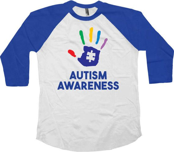 Autism Awareness T-Shirt - Autism T Shirt - Autistic Gifts - Autism Spectrum - Autism Support - Autism Speaks - Autism Awareness Day - Apple Shirt Love this design? Check out some other Autism Awareness Shirts: https://www.etsy.com/ca/shop/CherryTees?ref=hdr_shop_menu&section_id=17164841 ________________________________________________________ All raglans are American Apparel or Bella Canvas branded and custom made to order and are printed using the la...