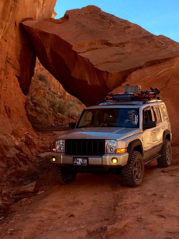 Jeep Commander on some desert trails                                                                                                                                                                                 More