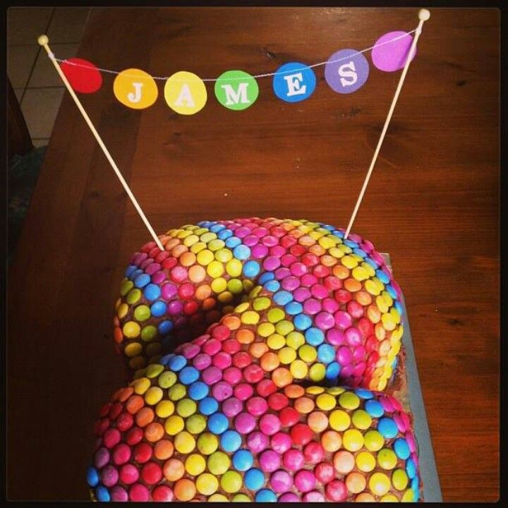 Love this idea for a kids birthday cake