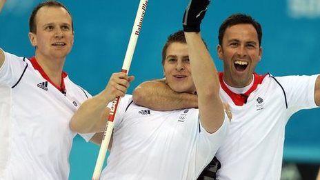 GB curling men reach Olympic final