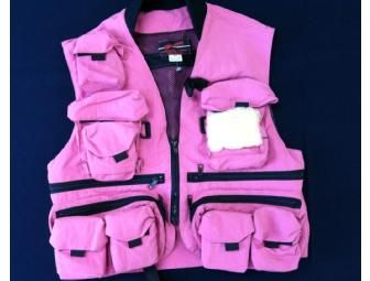 Women's Pink Fishing Vest | Women's Fly Fishing Vest
