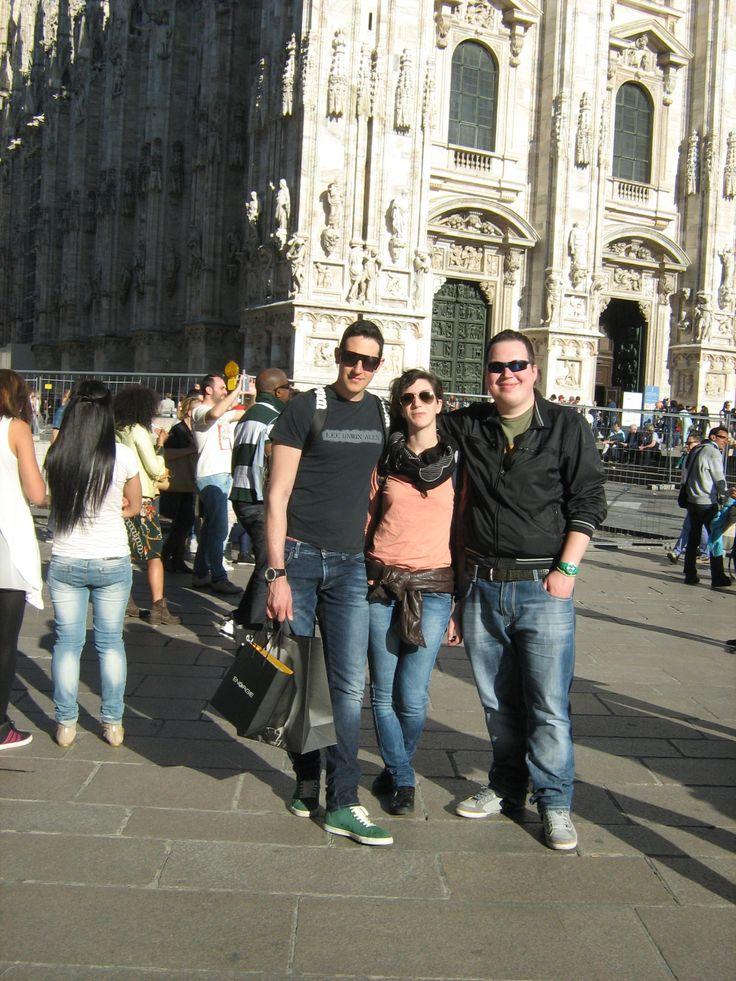 Amici incontrati a Milano
