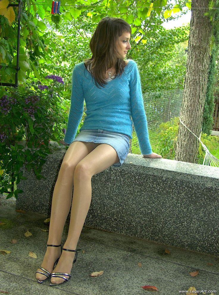 Girls high heels nude-4892