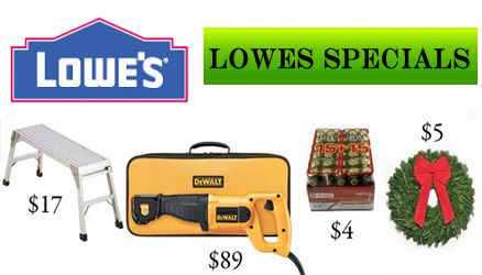 Lowes Specials