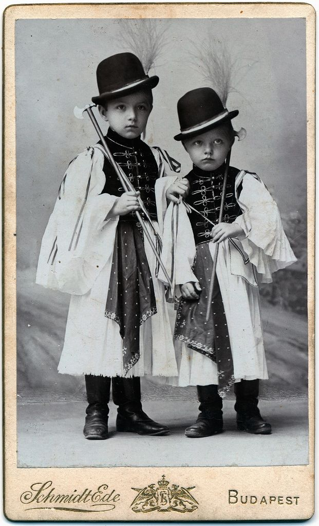 ~ Two Hungarian children