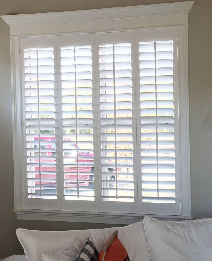 The Louver Shop offers custom interior window shutters, both wood and  poly/faux wood, as well as a full line of window shades & blinds from  leading brands