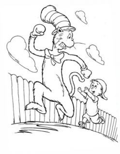 dr seuss printable characters  famous characters and cartoon coloring pages  free coloring