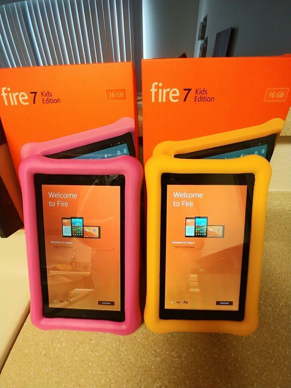 Brand new Amazon kindle Fire 7 kids edition for Sale in