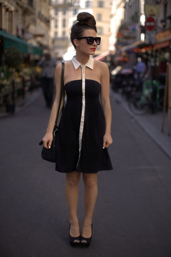 cute: Little Dresses, Shirts Collars, Clothing, Vero Moda, Audrey Hepburn, Girly Business, The Dresses, Cut Outs, Moda Dresses