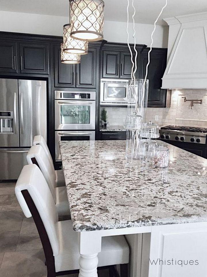 45 An Amazingly Beautiful Granite Countertops Kitchen Models 27 In