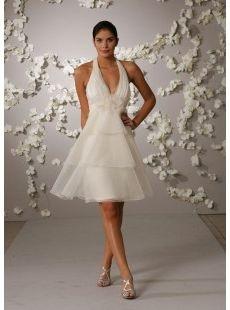 Sexy Second Wedding Dress