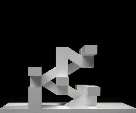 spatula: (via TECTÓNICAblog» E2A Eckert Eckert Arquitectos, Zurich) Model Maqueta