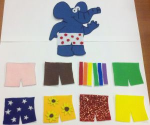 If Elephants Wore Pants-Flannel Board Story