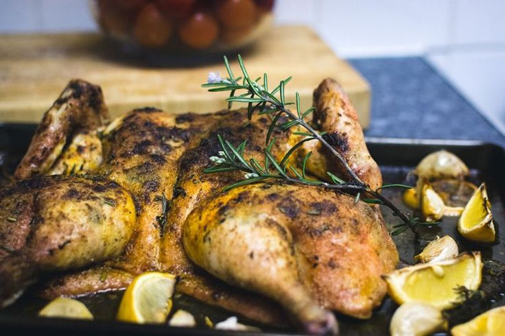 Have you tried butterflied roast chicken?The dish requires very little prep time. It's a fabulous weeknight dinner on busy days!