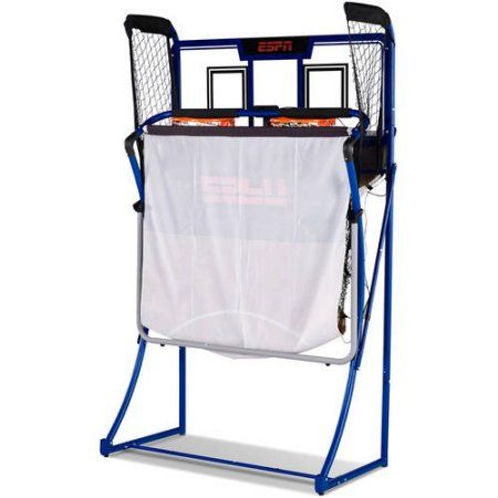 ESPN EZ-Fold 2-Player Basketball Game with Authentic PC Backboard