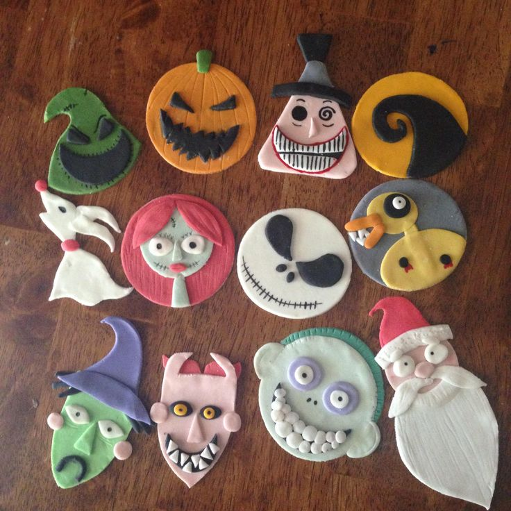 nightmare before christmas cupcakes - Google Search