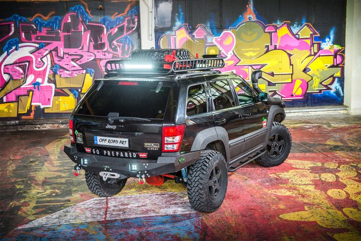 Comprehensive modification Off Road- Jeep Grand Cherokee WK | MetalPasja.pl