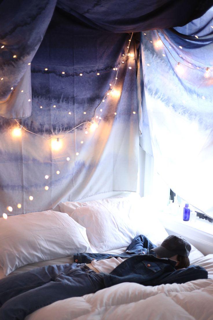 874 Best Bedroom Fairy Lights Images On Pinterest