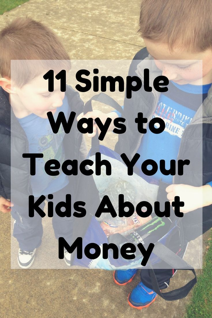 Do your kids know the value of a dollar? Here are 11 simple and natural ways to teach your child about money from a very young age.