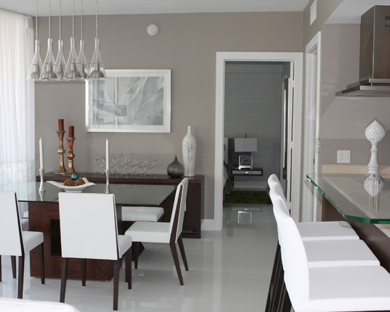 The Colors I Used Are Sherwin Williams Functional Gray SW 7024 For Walls And Extra Living RoomDining