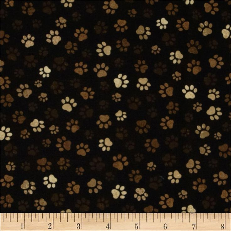 Paw Prints Mud from @fabricdotcom  From Timeless Treasures, this cotton print fabric is perfect for quilting, apparel, crafts, and home décor items.