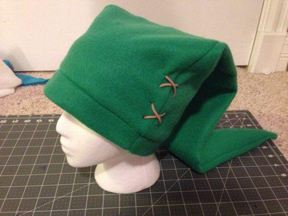 b056dd7ab81 Legend of zelda green and black cosplay link hat costume elf hat jpg  570x428 Zelda green