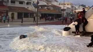 UVioO - Carvoeiro Big Waves (video) Ondas gigantes HD