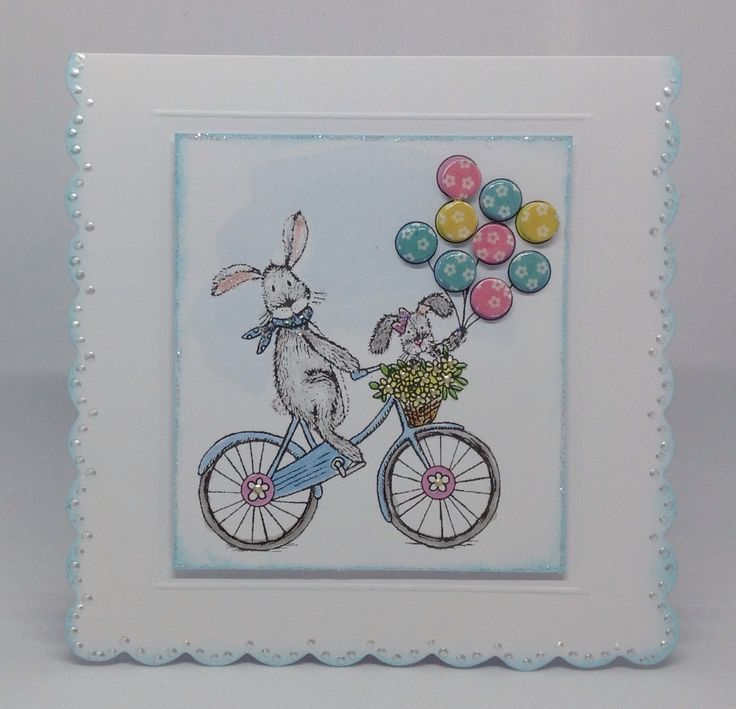 Warren and Lola Candi Pad, card designed by Julie Hickey