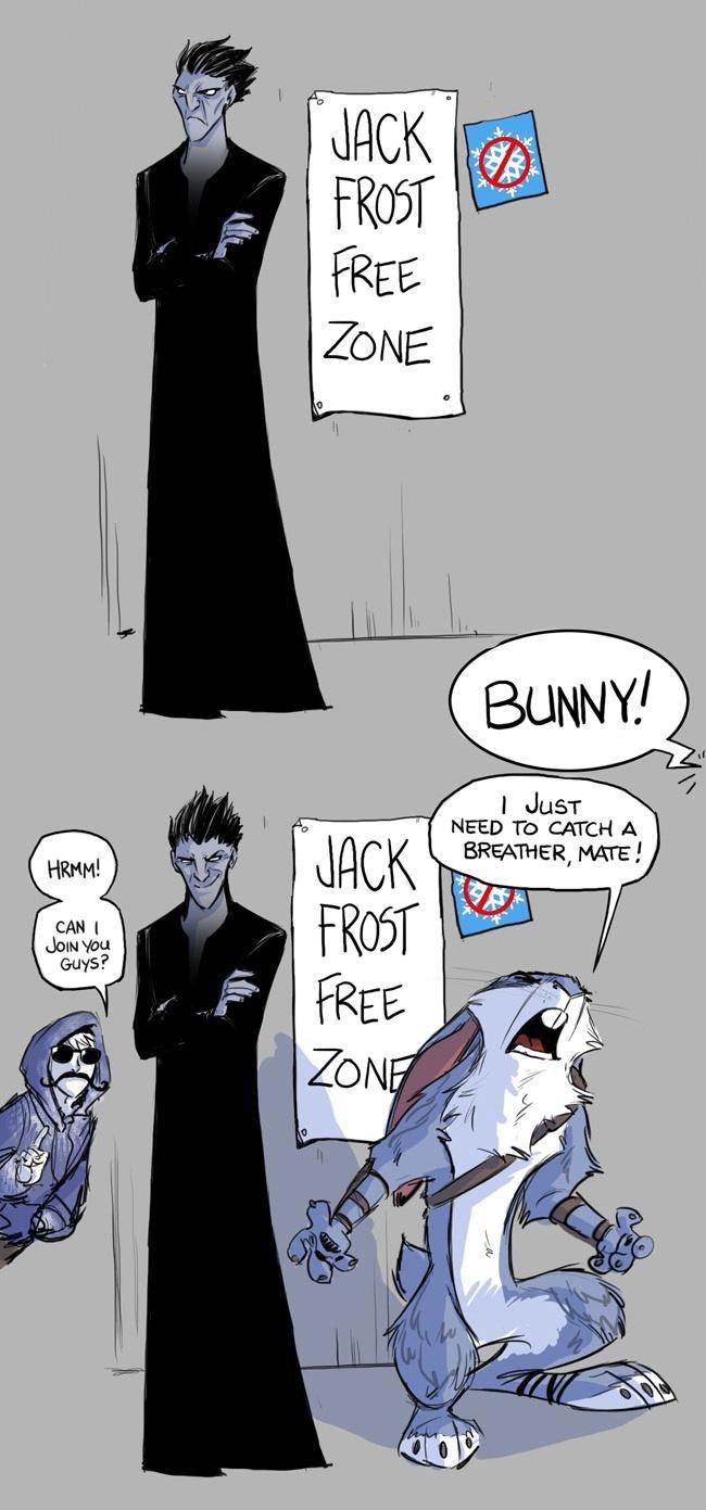 Haha! Bunnymund. #rotg #riseoftheguardians