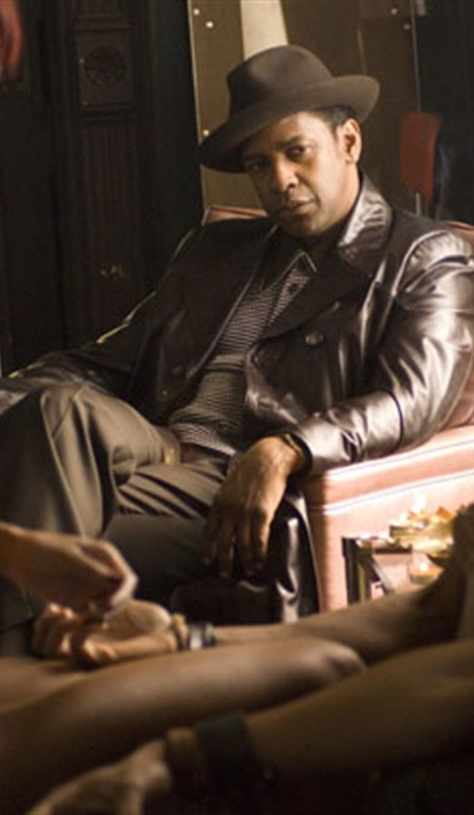American Gangster - Frank Lucas watching Tango fail to use a coaster... #GangsterMovie #GangsterFlick