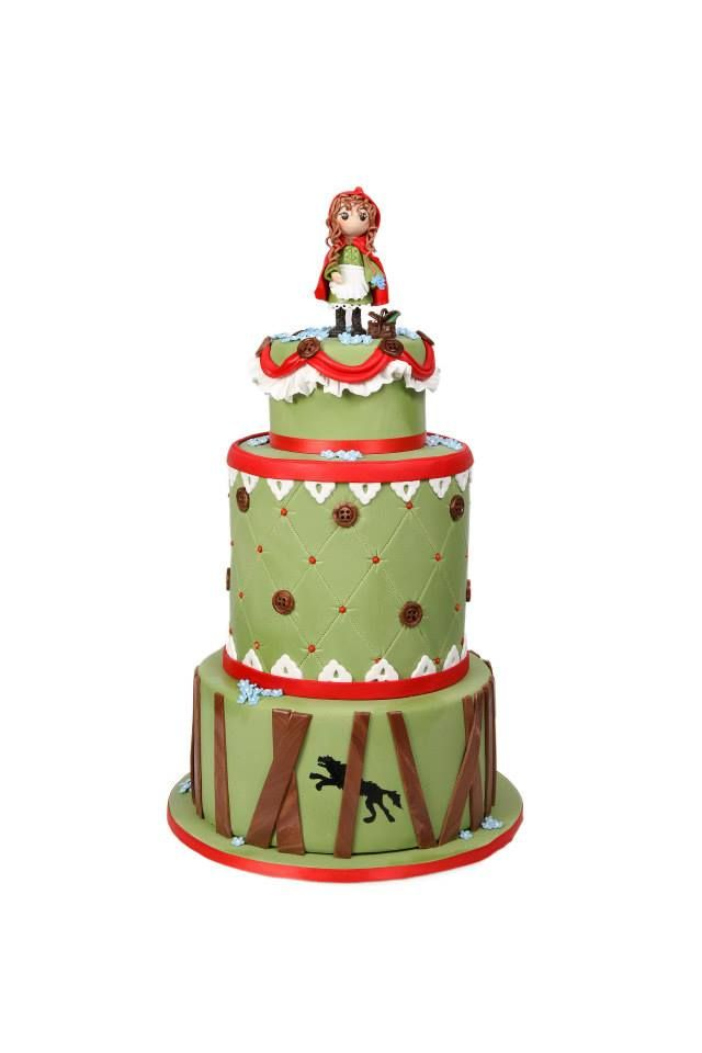 47 best Little Red Riding Hood Cakes images on Pinterest Red