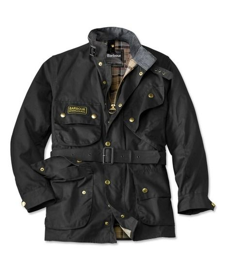 A7 a constant fave, Barbour International Jacket