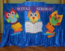 Znalezione obrazy dla zapytania rozpoczęcie roku szkolnego dekoracja sali