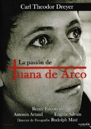 La pasión de Juana de Arco (1928) Francia. Dir: Carl Theodor Dreyer. Drama. S.XV. Relixión. Películas de culto - DVD CINE 440