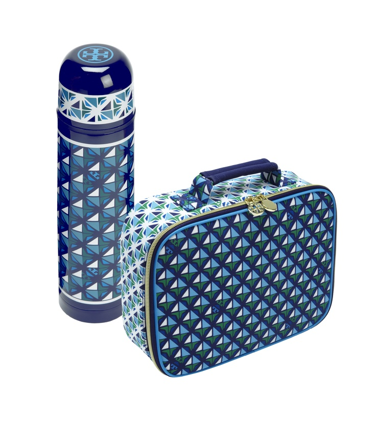 Who wouldn't want to have lunch with Tory Burch? Pack your midday meal in style with a Tory Burch Lunchbox and Thermos. Neiman Marcus + Target #Holiday24