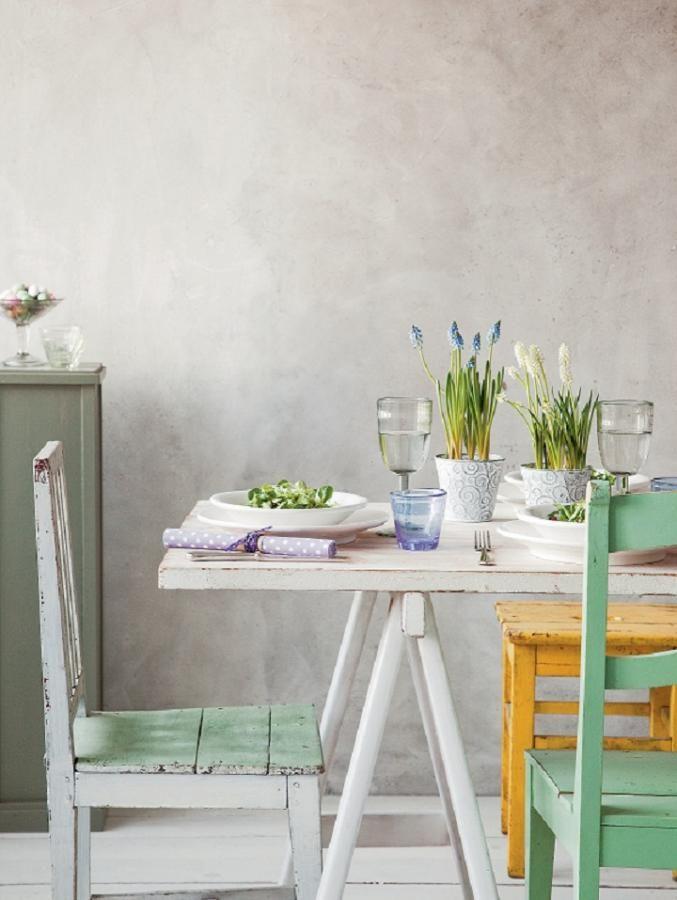 paastafel - easter table setting