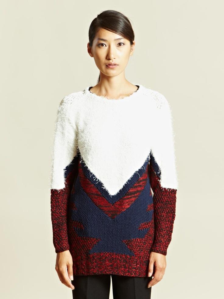 Toga Womens Oversized Sweater