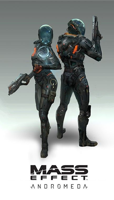 Mass Effect Andromede - Artwork